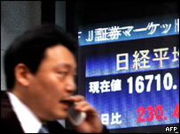 Japanese financial data