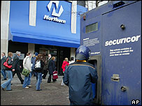 Northern Bank, west Belfast