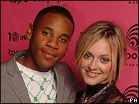 TOTP hosts Reggie Yates and Fearne Cotton