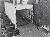 CCTV picture of the lorry (from Kent Police)