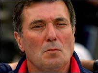 Tunisia coach Roger Lemerre