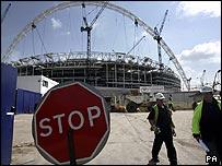 Construcción del nuevo Wembley