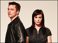 Torchwood stars John Barrowman and Eve Myles