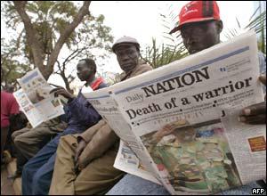 Southern Sudanese refugees in Nairobi, Kenya