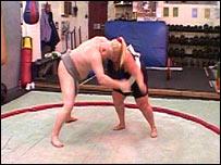 Jackie Bates, sumo wrestler