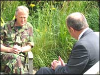 NI security editor Brian Rowan talked to Colonel Mark Campbell
