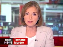 One O'Clock News presenter Anna Ford