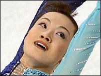 Japan's Shizuka Arakawa