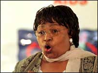 South African Health Minister Manto Tshabalala-Msimang