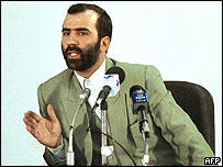 File photo of Hassan Moghaddas from November 2000