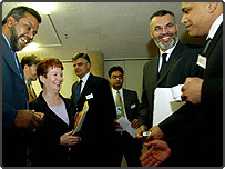 Hazel Blears meets senior Muslims