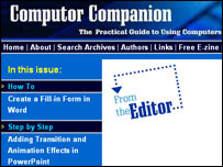 Computer Companion website