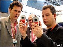 Mobile phones at 3GSM