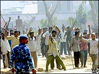 Riots in Ahmedabad in 2002