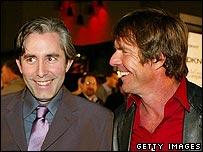 Chris Weitz and Dennis Quaid