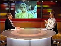 Viewer in NewsWatch studio