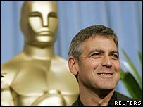 George Clooney at the announcement of the Oscar nominations