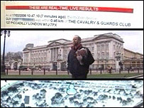 10:54 - Guy was at Buckingham Palace