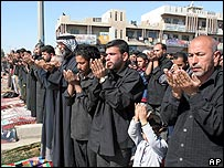 Prayers at Sadr City, Baghdad