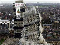 Controlled Demolition Group blow up Sutherland and Embley points in Hackney