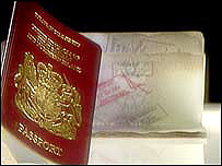 Image of a passport