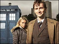 Still of new Dr Who David Tennant, BBC