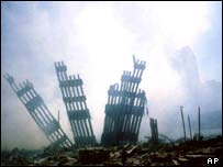 Aftermath of World Trade Centre attack, AP