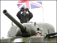 Dave Harvey and Tank
