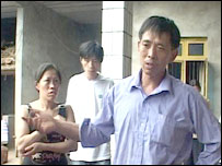 Mr Shen's son in the family home