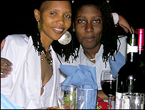Mpumi (right) and Asanda