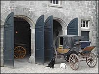 Gibside stables