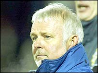 Roy Millar is manager of the NI Milk Cup side