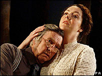 Tom Courtenay and Derbhle Cotty in The Home Place