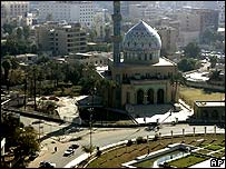 Central Baghdad on Friday