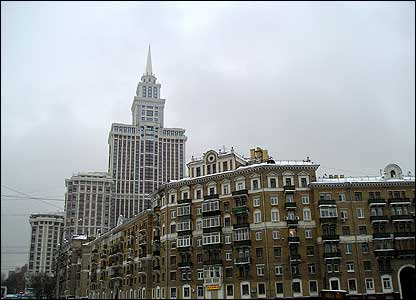 Triumph Palace skyscraper (photo: Evgeniy Podolskiy)