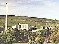 The former Lafarge cement works
