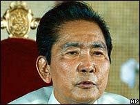 Former Philippines President Ferdinand Marcos