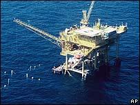 Plataforma de Occidental Petroleum