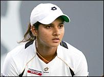 India's Sania Mirza