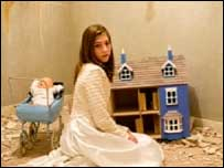 The Stornoway production is based around a doll's house