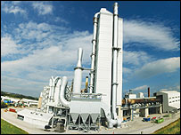 Castle Cement works (pic supplied by company)