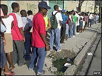 Haitian voters