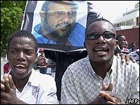Haitian protest