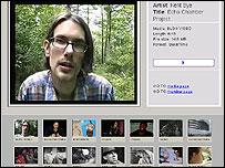 Screenshot of Ourmedia