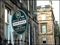 Edinburgh for sale sign