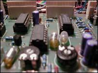 Computer circuit board, Eyewire