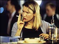 Film version of Bridget Jones