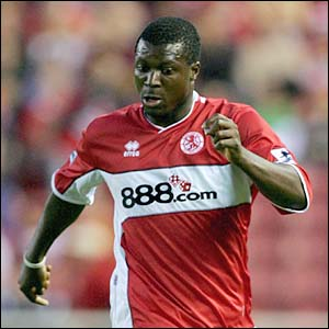 Yakubu in action for Middlesbrough