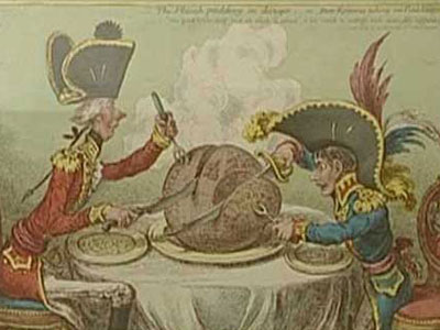 James Gillray - courtesy of the Cartoon Museum