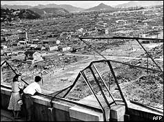 Hiroshima after the blast